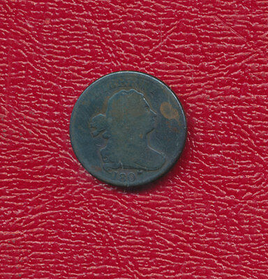 1807 Draped Bust Copper Half Cent ** Very Good ** Free Shipping