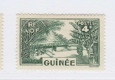 A3P16 French Guinea 1938-40 4c mh* #136
