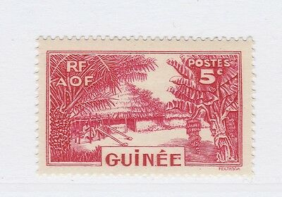 A3P16 French Guinea 1938-40 5c mh* #137