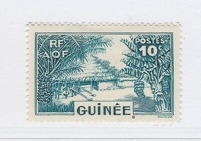 A3P16 French Guinea 1938-40 10c mh* #138