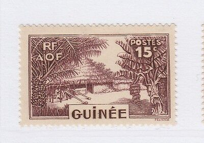 A3P16 French Guinea 1938-40 15c mh* #139