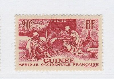 A3P16 French Guinea 1938-40 20c mh* #140