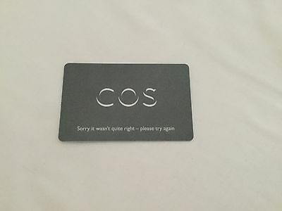 COS gift card