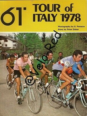 Tour of Italy 1978, 61° Giro d'Italia by Peter Duker and S. Penazzo.