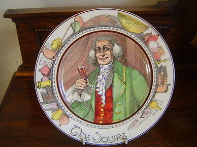 Royal Doulton  Series Ware Plate The Squire D 6284