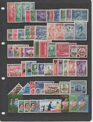 Philippines 1946-79 Superb Collection On Double-Sided Stockpage *mnh*