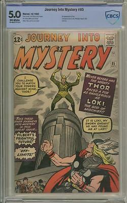 JOURNEY INTO MYSTERY 85 - CBCS 5.0 - First appearance of Loki - Marvel Comics