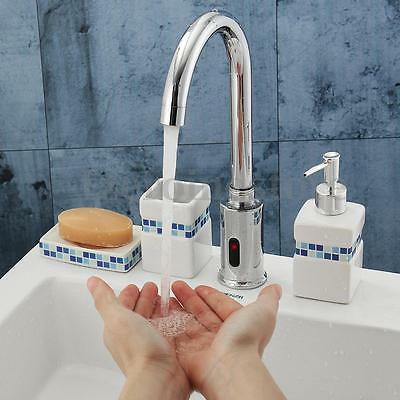Automatic Hands Free Touch Control Electronic Sensor Sink Mixer Tap Basin Faucet