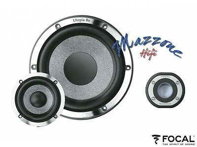 Focal Utopia Be Kit N°7 Active 3 Vie Separate Woofer Midrange Tw Made In France