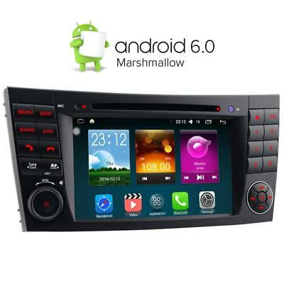 DAB+ Android 5.1 DVD GPS Sat nav for Mercedes Benz E G CLS Class W211 W219 W463