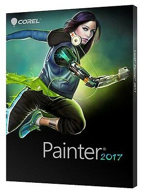 Corel Painter 2017 with Windows serial  (Full Version)
