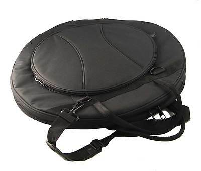 """22"""" PADDED CYMBAL / STICKS BAG 7 COMPARTMENTS drum case"""