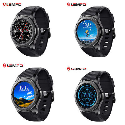 Lemfo Bluetooth LF16 8GB 3G SIM WiFi Wireless Smart Watch Pedometer For Android