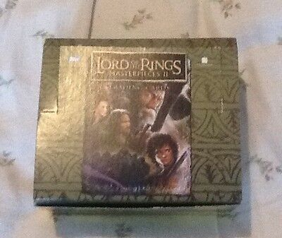 Job Lot 260+ Lord Of The Rings Masterpieces Ii Trading Cards Inc 36 Foil Chase !