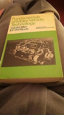 fundamentals of motor vehicle technology,  1975 edition