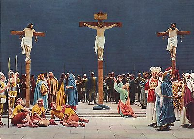 Old Religious Postcard Of The Crucifixion