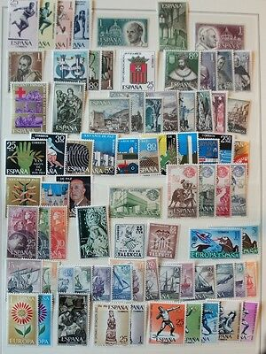 Spain Stamps 1962-64 Assortment MNH