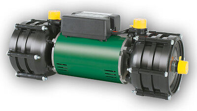 Salamander Right RHP100 Twin Impeller Shower Pump Whole House 3.0 Bar Positive