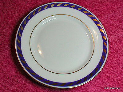 """Herend First Edition (Candlelight Blue) 6 1/8"""" BREAD PLATE Exc Pat #RFXB"""