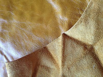 Real Caramel Leather 111cm x 74cm