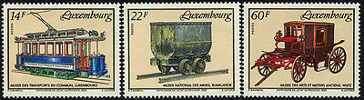 Luxembourg 904-6 MNH - Museum Exhibits
