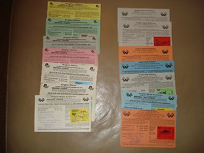 Fishing licences (old)