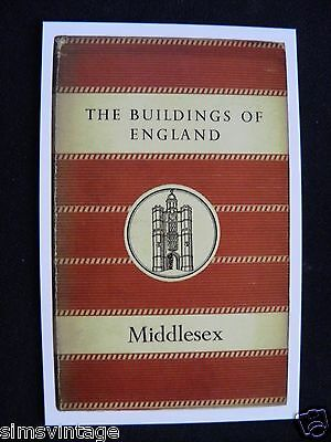 Penguin Book Cover Postcard The Builds Of England Middlesex