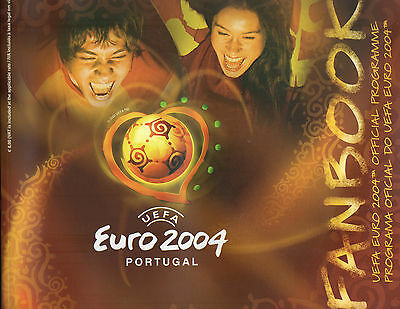 M - Euro 2004 European Championships Portugal Official Programme Fanbook