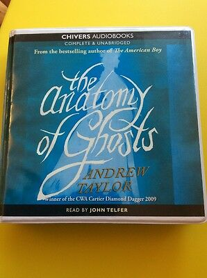The Anatomy Of Ghosts : Andrew Taylor Unabridged Audiobook On 12 CD's : New