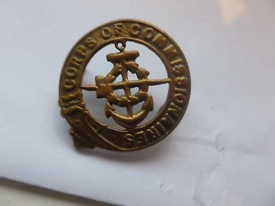 Corps  Of   Commissionaires   Cap Badge   Reproduction