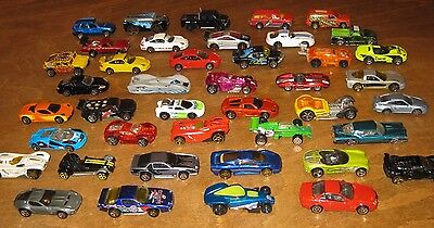 Collection Of 42 Hot Wheels And Small Toy Cars