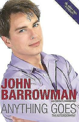 Anything Goes: The Autobiography by John Barrowman, Book, New (Paperback)