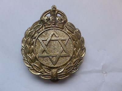 Unknown Cap Badge   Reproduction  (  Think Jewish  But Unsure  )