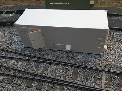 Bundeswehr Container 10to  22 Fuß. Wohnmobil Koffer RC 1:16