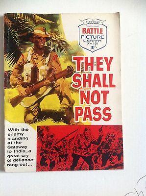 Battle Picture Library No 151 They Shall Not Pass