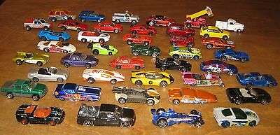 Collection Of 41 Hot Wheels And Small Cars