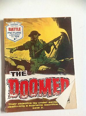 battle picture library No 158 The Doomed