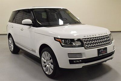2015 Land Rover Range Rover Supercharged Sport Utility 4-Door 2015 Land Rover Range Rover Supercharged 20K miles Meridian Audio Vision Assist