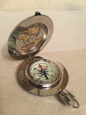 Dalvey Voyager Liquid Damped Pocket Compass with Gift Box