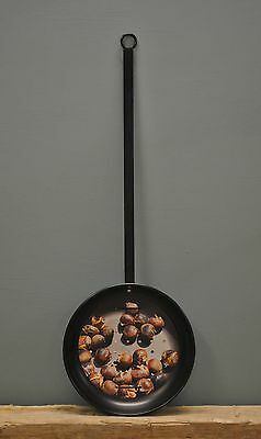 Metal Chestnut Roaster for Open Fire, Stove, BBQ or Firepit by Fallen Fruits