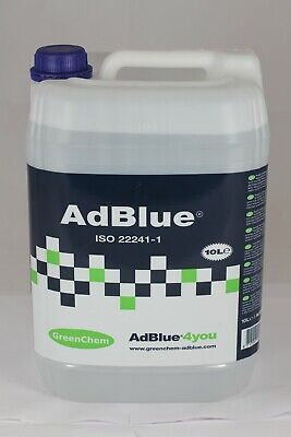 Greenchem AdBlue 10L + Pouring Spout 10Ltr For all Audi Adblue Vehicles 10 Litre