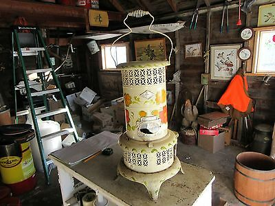 Vintage Perfection or Perfect No. 016 Kerosene Heater Painted RARE Lot 17-4-22-B