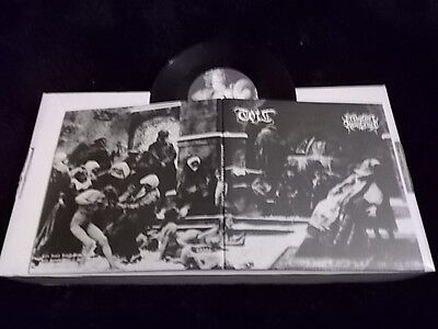 "Toil / Prevalent Resistance Split 7"" EP Unjoy Recs  (Kim/Lifelover) BLACK METAL"