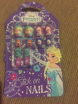 Brand New Disney Frozen Stick On Nails