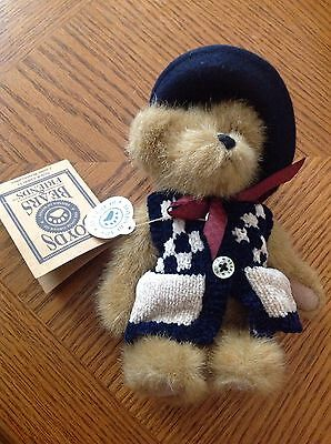 Boyds Plush Bear Caitlin Berriweather With Tags Retired