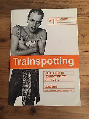 Trainspotting Movie Press Pack From 1996