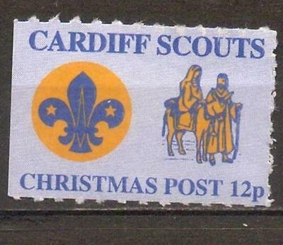 Cardiff, UK, local Scouts Post