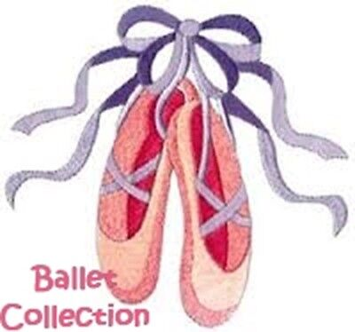 Ballet Collection - Machine Embroidery Designs On Cd