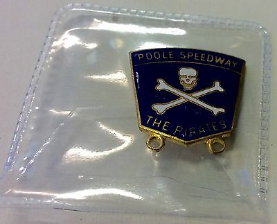 .  Poole Pirates.  Speedway    Badge.
