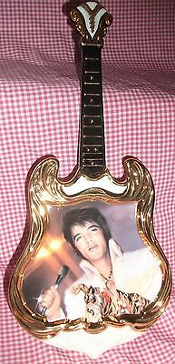 Elvis Presley GUITAR PLATE 1974 THE SUPERSTAR Entertainer of the Year series #3